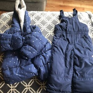 Girls 2t Winter Jacket and Ski Pants